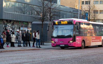 Lisää kestävää liikennettä Ouluun