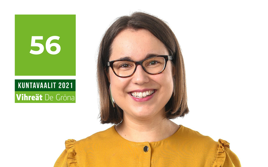 Candidate Aino-Kaisa Manninen in municipal elections | 56 | Greens, Oulu – Vote and Support my campaign!